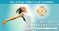 Selbstheilungskonferenz - Schwerpunkt Krebs