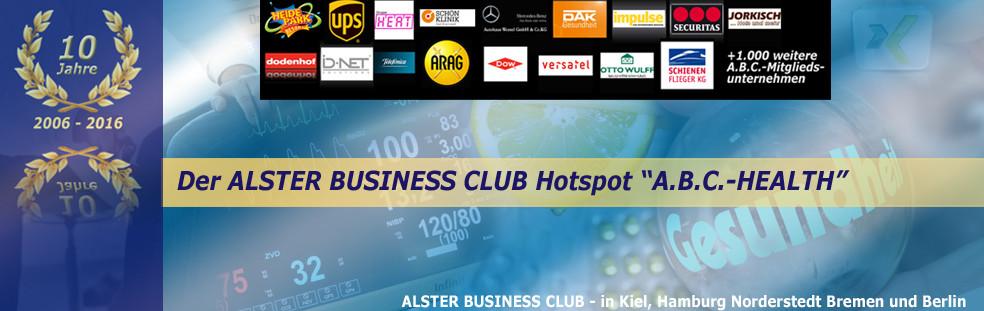 """Alster Business Club – Center of Competence """"Mehr Gesundheit = Mehr Gewinn"""""""