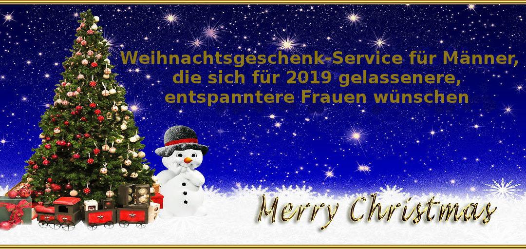 Weihnachtsgeschenk-Service für Männer