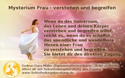 Mysterium Frau  – verstehen und begreifen – Programm der Challenge + FAQ